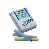Image for Stephens Superline Chalk Assorted Colours Ref RS543442 [Pack 12]