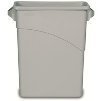 Rubbermaid Grey Slim Jim Container 60Ltr