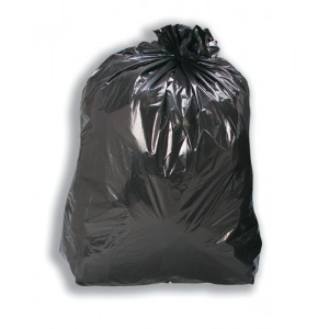 5 Star Black Bin Liners Med Duty Pk200