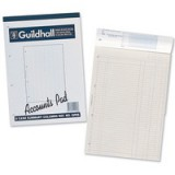 Image for Guildhall Account Pad 2-Column Cash A4 GP2