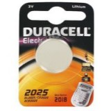 Image for Duracell Button Battery Lithium 3V DL2025 Pack of 2 75072667