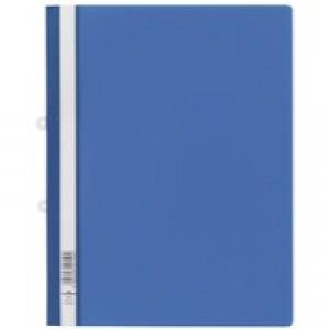 Durable Clear View Folder A4 Blue Pk25