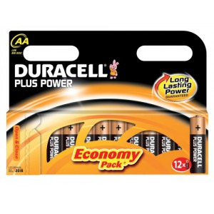 Image for AA Duracell Plus Batteries PK12