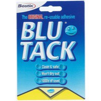 Bostik Blu-Tack Handy Pack 60g