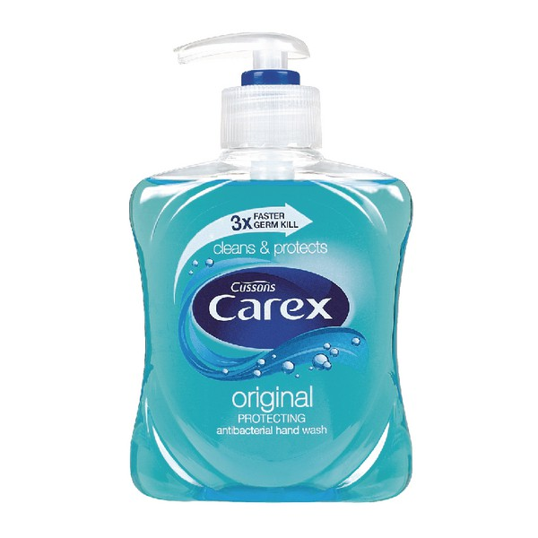 Carex Liquid Hand Soap 250ml Pk2