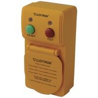 Hi Distribution RCD Safety Plug Orange