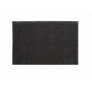 Floortex Outdoor Mat Vinyl Fibre Surface Vinyl Back 600x900mm Grey
