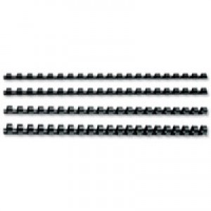 Image for GBC Binding Combs 14mm A4 21-Ring Black Pack 100 Code 4028178