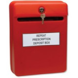 Image for Helix Post/Suggestion Box Red W81060