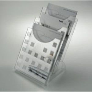 Helit Desktop 3Pkt A4 Literature Holder