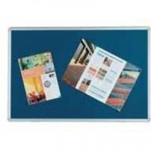 Q-Connect Noticeboard 1800x1200mm Blue