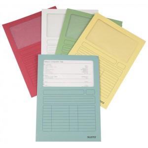 Leitz Window Folder 160gsm A4 Assorted Ref 3950-99-99 [Pack 100]