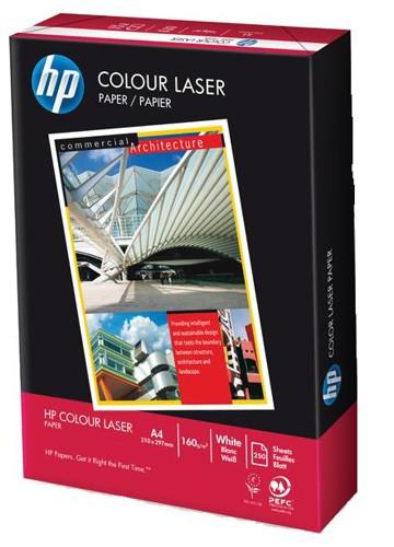 Hewlett Packard [HP] Colour Laser Paper 160gsm A4 White Ref HCL0339 [250 Sheets]