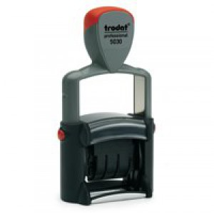 Image for Trodat Professional Line 5030 Self Inking Date Stamp 4mm Characters Black