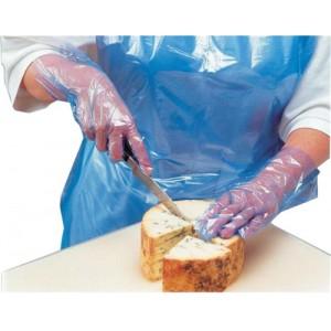 Polyco Digit PE Gloves Powder-free Polythene Textured Surface Ref PE100 [Pack 100 ]