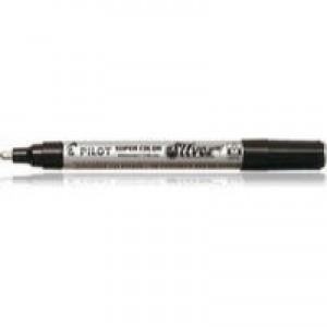 Pilot Silver Marker Bullet Tip Pk12 SCSM