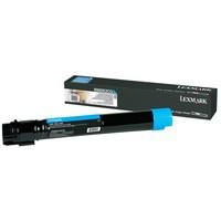Lexmark C950X Toner Cartridge Extra High Yield Page Life 2200pp Cyan Ref X950X2CG