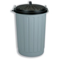 90Lt Round Dustbin with lid