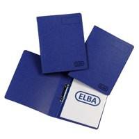 Elba Blue A4 Pressboard 25mm Binder Pk10