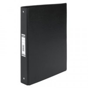 Elba Vision 4 O Ring Binder PVC A4 Black