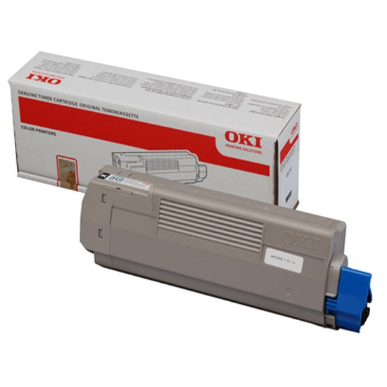 OKI Laser Toner Cartridge Page Life 7000pp Black Ref 44059168