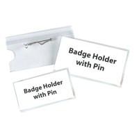 Announce Pin Name Badge 54X90 Pk50