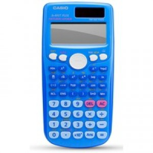 Casio Scientific Blue Calc Twin-Powered