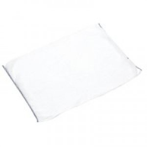2WORK WHITE DISHCLOTH 300X400MM PK10