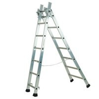 Transformable 3 Section 6.9m Alum Ladder