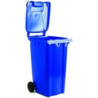 Blue 2 Wheel Refuse Container 240Ltr