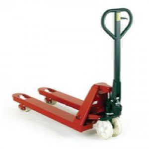 Lime Green Hand Pallet Truck 2 Ton