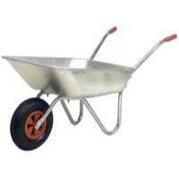 Medium Duty Wheelbarrow Silver 379991
