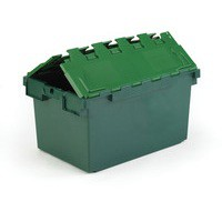 Green 80L Plastic Container/Lid