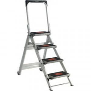 Aluminium 4 Tread Safety Step