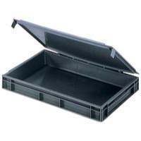 Plastic Container Stndrd Box Grey 307446