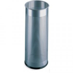 Silver Umbrella/Waste Bin Perforated