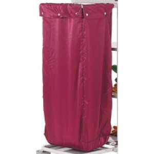 Maid Service Burgundy Trolley Nylon Bag