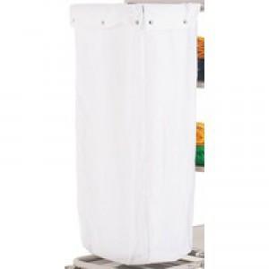 Maid Service 10581 Wht Trolley Nylon Bag