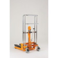 Yellow Fork Stack 400kg Lifter Truck