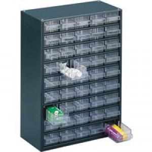 Dk.Grey Storage Cabinet 45 Drawer 324193