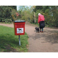 Pet Hygiene Bin 30 Litre Red 324475