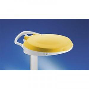 Plastic Round Lid / Smile Yellow