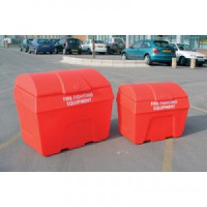Fire Fighting Bin Store Static 400L Red