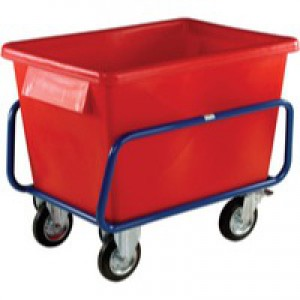 Red Plastic Contain Truck 1040X700X860mm