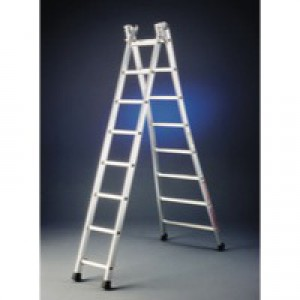 Transformable 2x12 Rungs Alum Ladder