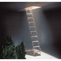 Concertina Ladder Aluminium 329222