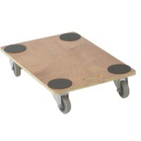 Brown Plywood Dolly 910X610X135mm 329332