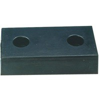 H/Duty Rect Type 2-2 Hole Dock Bumper