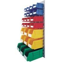 Midi Wall Mounted Unit / Coloured Bins