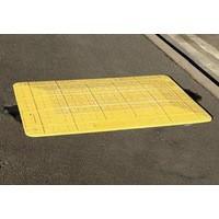 Yellow 700mm Safe Kerb Ramp